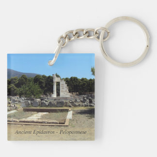 Ancient Epidavros – Peloponnese Double-Sided Square Acrylic Keychain
