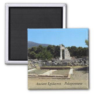 Ancient Epidavros – Peloponnese Square Magnet
