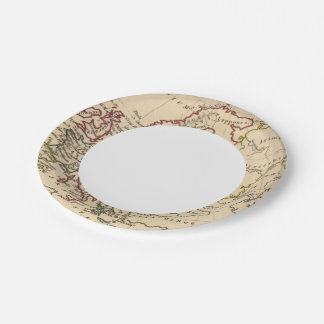 Ancient Europe 7 Inch Paper Plate