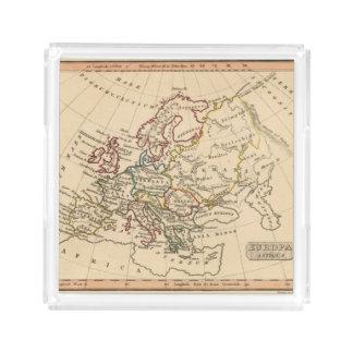 Ancient Europe Acrylic Tray
