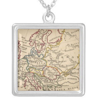 Ancient Europe Silver Plated Necklace