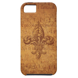 Ancient Fleur De Lis iPhone 5 Cover