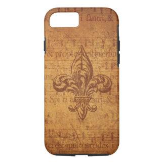 Ancient Fleur De Lis iPhone 7 Case