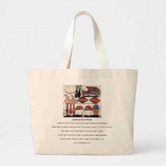 Ancient Food Facts Jumbo Tote Jumbo Tote Bag