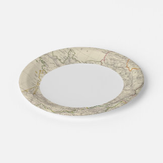 Ancient France 7 Inch Paper Plate