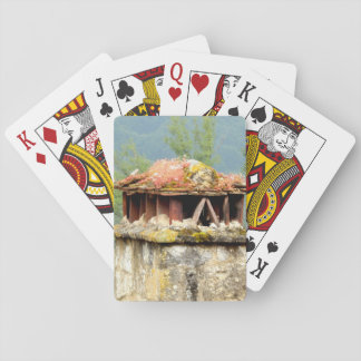 Ancient French Chimney Classic Playing Cards