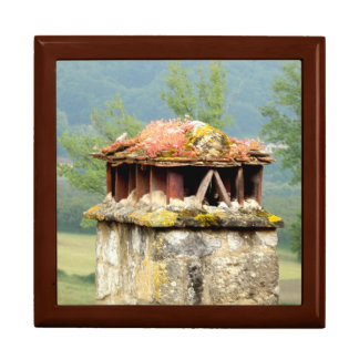 Ancient French Chimney Gift Box