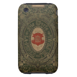 Ancient Goth Grunge Leather Tough iPhone 3 Cover