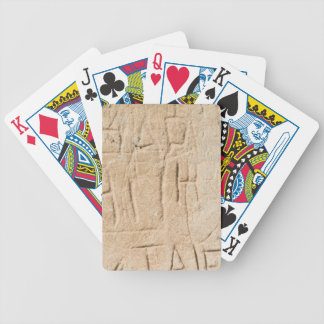 Ancient Graffiti Bicycle Playing Cards