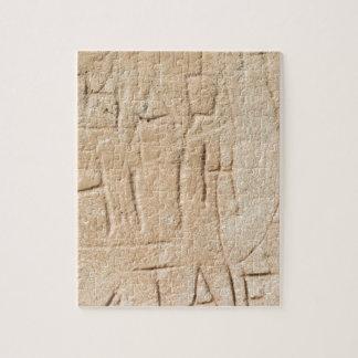 Ancient Graffiti Jigsaw Puzzle