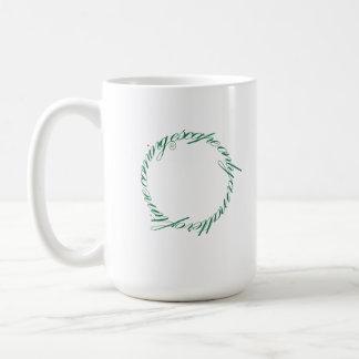 Ancient Greak Style Typeface Mug