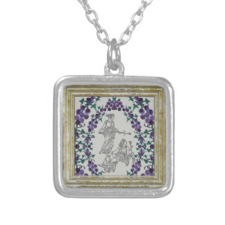 Ancient Grecian Fashions Silver Plated Necklace