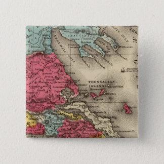Ancient Greece 2 15 Cm Square Badge