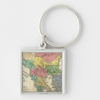 Ancient Greece 4 Key Ring