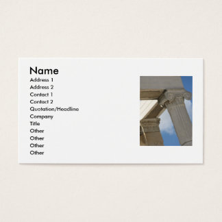 Ancient Greece - The Acropolis - Business Cards