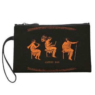 Ancient Greek computer lesson Wristlet Purse