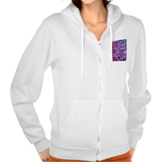 Ancient Greek Graffiti - Abstract Art Hooded Pullover