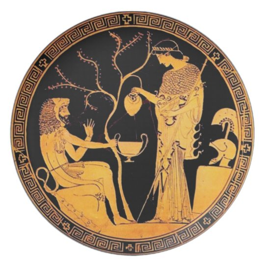 Ancient Greek plate