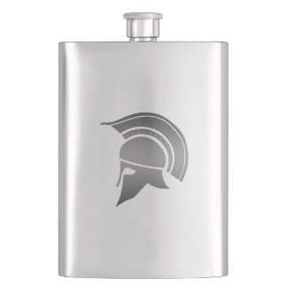 Ancient Greek Spartan Helmet Hip Flask