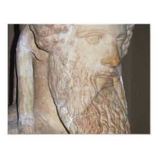 Ancient Greek Spartan Warrior 11 Cm X 14 Cm Invitation Card