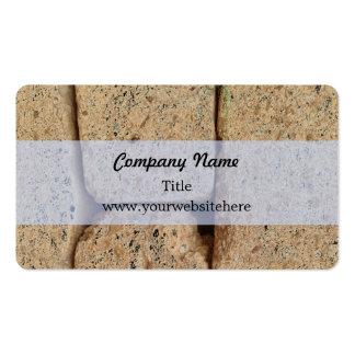 Ancient Greek Stone Pattern Business Card