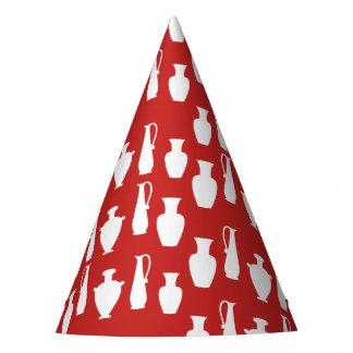 Ancient Greek Vases Jars Pattern Paper Hat
