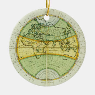 Ancient Hemispheres of the World, plate 94 from 'T Christmas Ornament