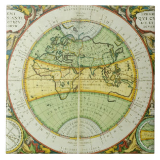 Ancient Hemispheres of the World, plate 94 from 'T Tile