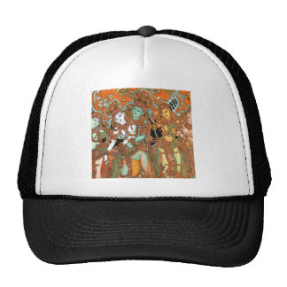 ANCIENT INDIAN PAINTINGS FROM HINDU TEMPLES HATS