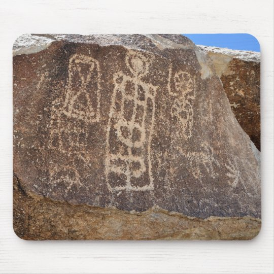 Ancient Indian Petroglyph - Nevada Mouse Pad