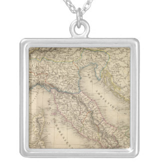 Ancient Italy 3 Silver Plated Necklace