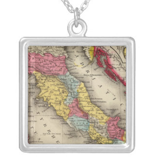 Ancient Italy 4 Silver Plated Necklace