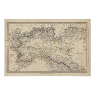 Ancient Italy I Poster