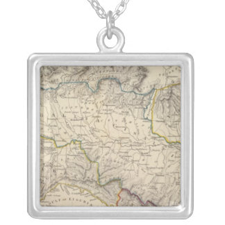 Ancient Italy I Square Pendant Necklace