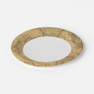 Ancient Italy Paper Plate