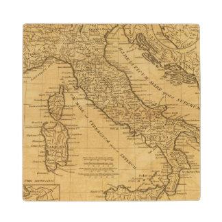 Ancient Italy Wood Coaster