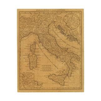 Ancient Italy Wood Wall Art