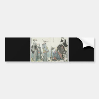 Ancient Japanese Art Bumper Sticker