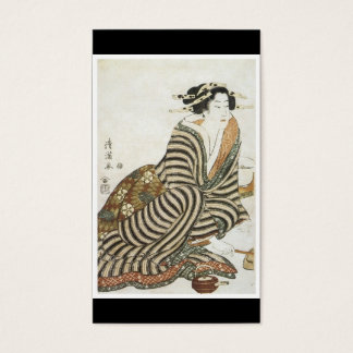 Ancient Japanese Art Business Card