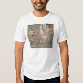 "Ancient ""Japanese Demons"" Painting Shirts"