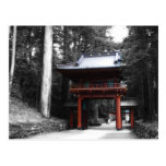 Ancient Japanese Gate Post Card