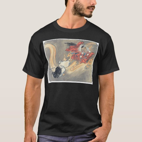Ancient Japanese Tengu Demon Painting T-Shirt