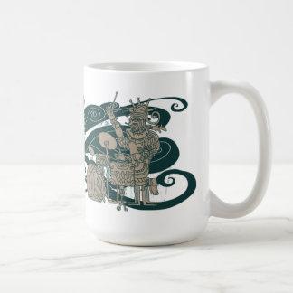 Ancient Jazztecs Coffee Mug