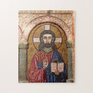Ancient Jesus Mosaic Jigsaw Puzzle