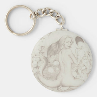 Ancient Journey #1 Basic Round Button Key Ring