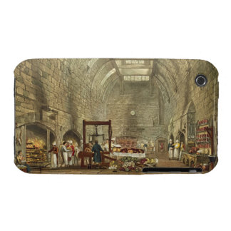 Ancient Kitchen, Windsor Castle, engraved by Willi iPhone 3 Cases