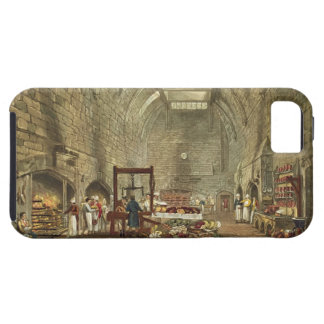 Ancient Kitchen, Windsor Castle, engraved by Willi iPhone 5 Covers