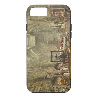 Ancient Kitchen, Windsor Castle, engraved by Willi iPhone 8/7 Case