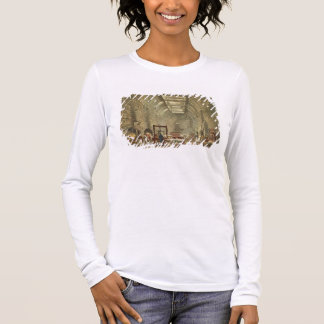 Ancient Kitchen, Windsor Castle, engraved by Willi Long Sleeve T-Shirt