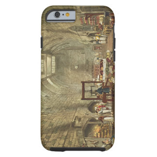 Ancient Kitchen, Windsor Castle, engraved by Willi Tough iPhone 6 Case